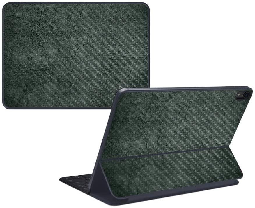 MightySkins Carbon Fiber Skin for Apple iPad Pro Smart Keyboard 12.9