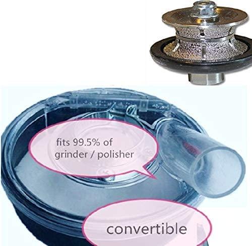 7-Inch Dust Shroud for Grinder Polisher Concrete 1-1/4