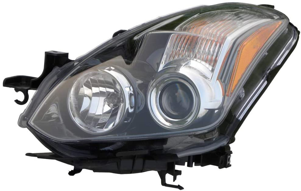 For 2010-2013 Nissan Altima Head Light Driver Side NI2502191 For Coupe; Halogen - replaces 26060-ZX10B