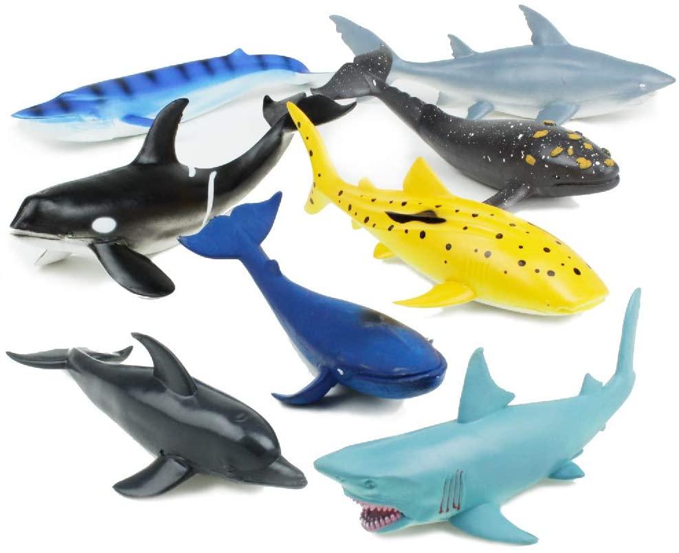 Boley Great Sea Creatures - 8 Pack 7-10