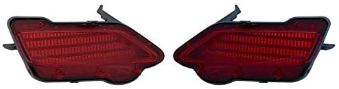 CarLights360: For 2013 2014 2015 TOYOTA RAV4 Reflector Pair Driver and Passenger Side Replaces TO1184107 TO1185107