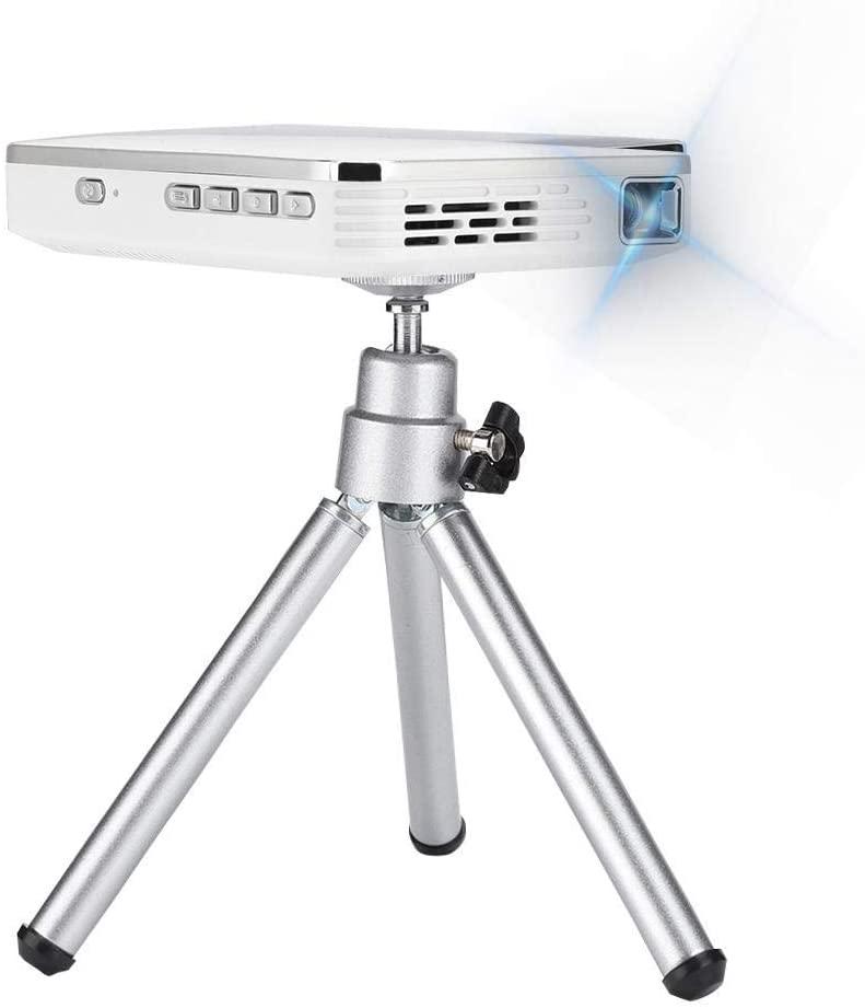 Mini Projector, DLP Projector Wireless Screen Share 2000 Lumen, Native 480P Supports 1080P, Max. 100