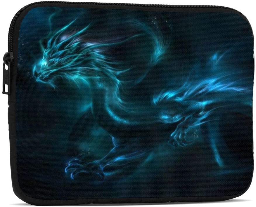 Cool Blue Dragon Design Tablet Sleeve Case 7.9