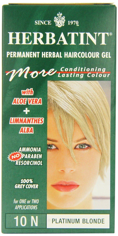 Platinum Blonde 10N - 150ml by Herbatint