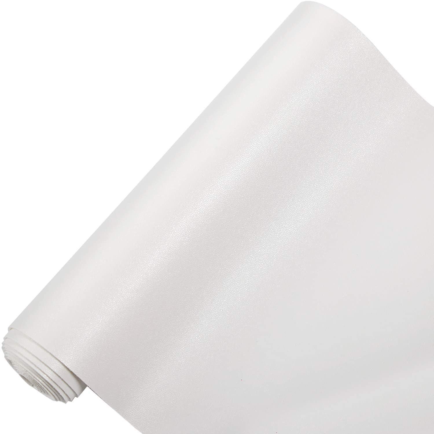 RAMYA Smooth Solid Color Faux Leather Sheets (7.8