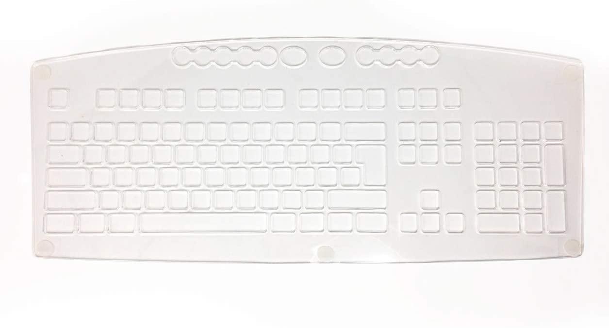 Keyguard for KeysUSee Large Print Keyboard