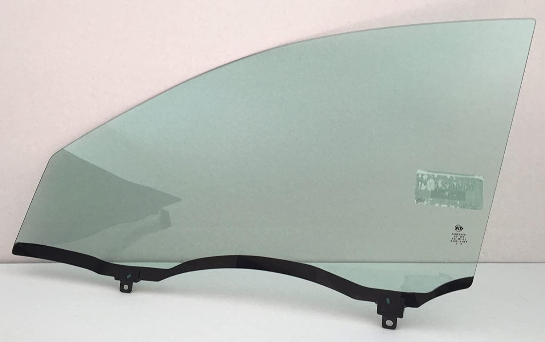 NAGD Driver/Left Side Front Door Window Glass Replacement for Pontiac Vibe 4 Door Hatchback 2003-2008