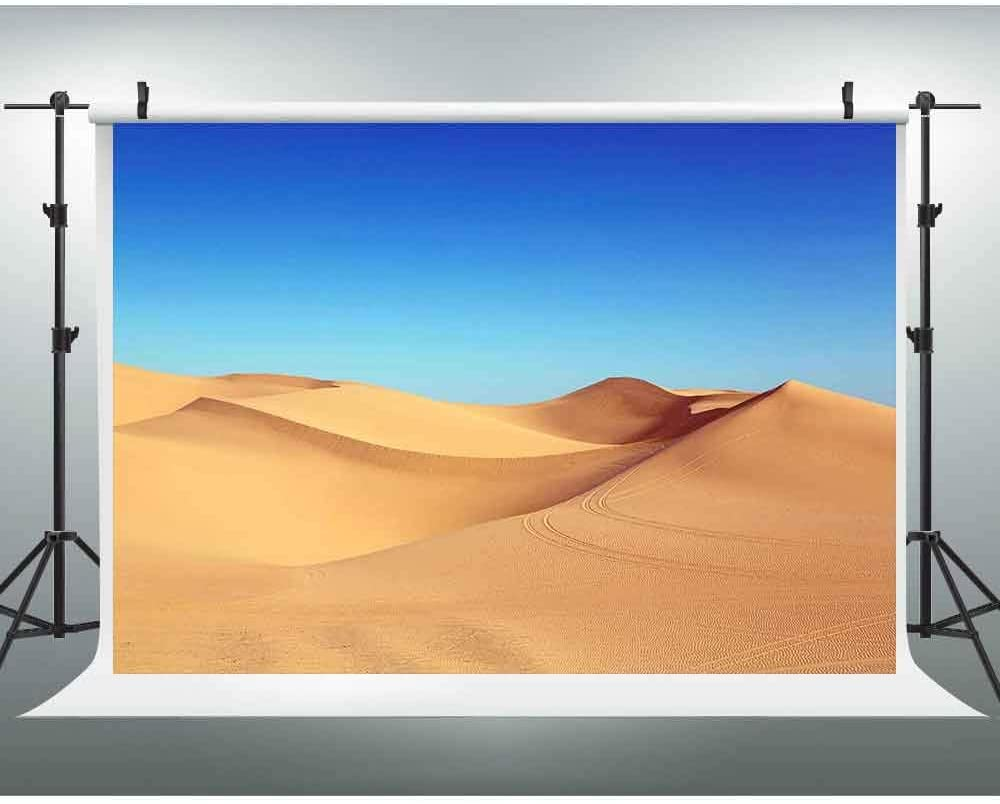 EOA 7(W) x5(H) FT Desert Sand Dune Backdrop Wild West Blue Sky Landscape Picture Photography Background Mysterious Birthday Party Kids Children Adult Photoshot YouTube Booth Studio Prop