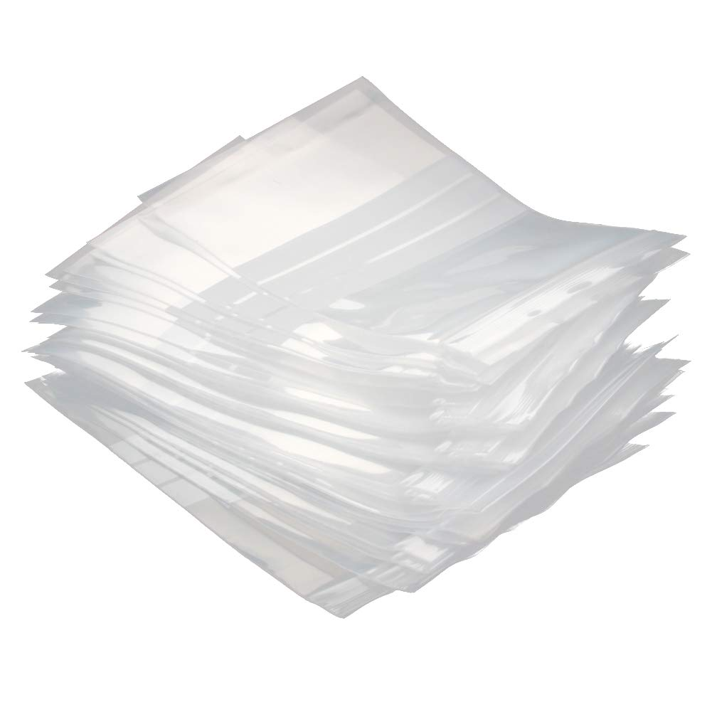 Othmro Plastic Ziplock Bags with White Write-On Label 120x170mm 33 Pcs Storage Plastic Bags for Food Candy