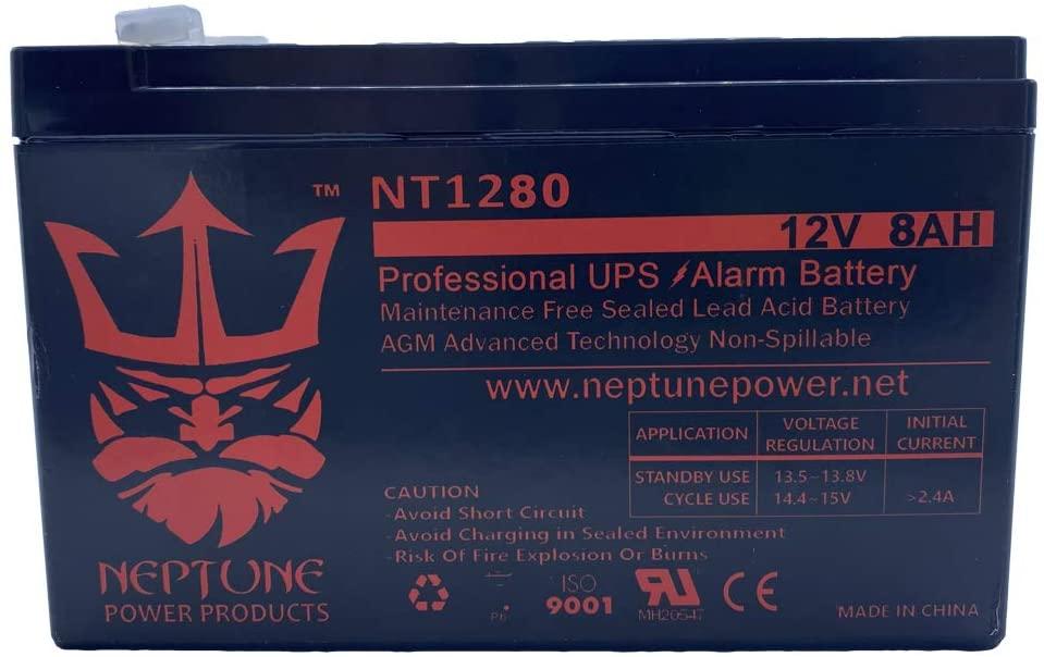 New 12V 8AH 7.5ah 8ah 12 Volt SLA Sealed Lead Acid Fish Finder Battery/Charger