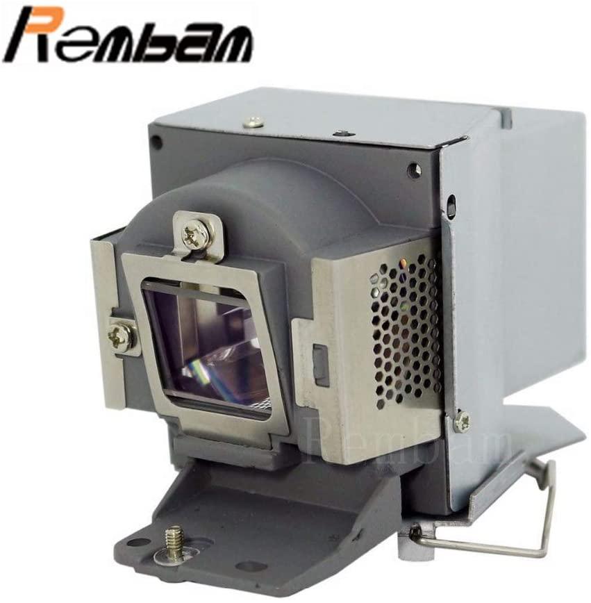 Rembam 5J.JAG05.001/5J.J6V05.001 Original Bulb Projector Lamp with Housing for BENQ MX600,OEM Bulb Inside