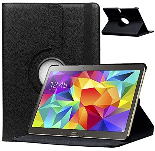Cover Case for Samsung Galaxy Tab S 10.5 Inch SM-T800 T801 T805 Smart Cover Slim Case Stand Flip (Black) New