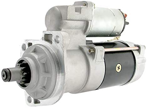 Rareelectrical NEW STARTER 12V COMPATIBLE WITH STERLING CUMMINS ISB LH REPLACES 10461771 19011402 8200067