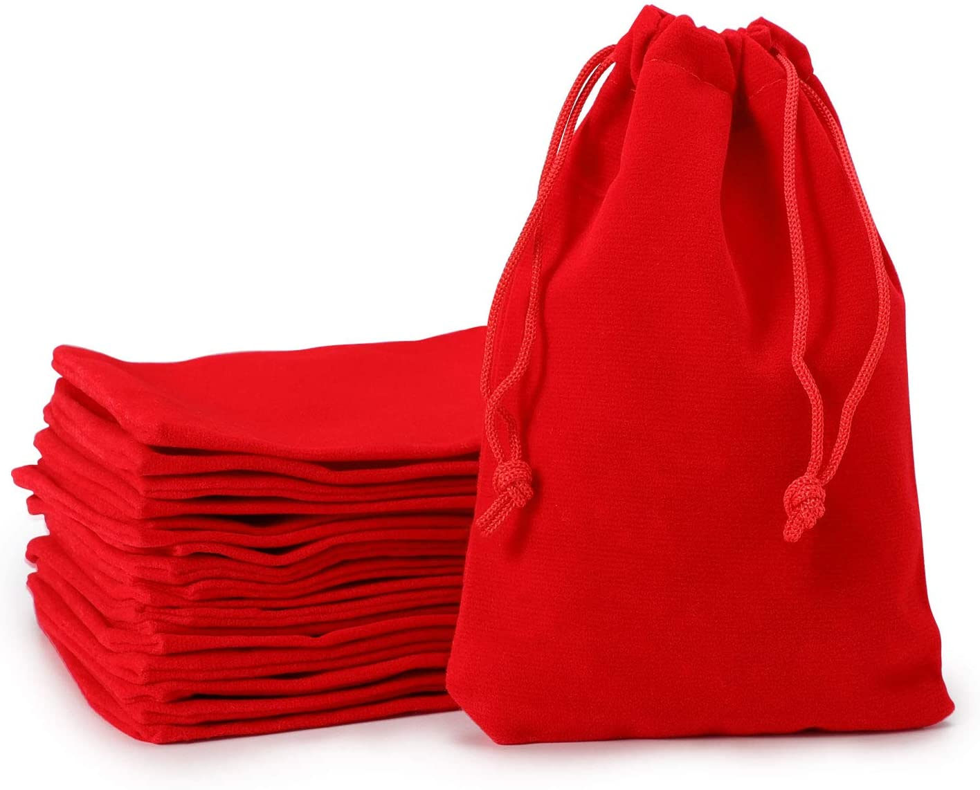 Velvet Bags Drawstring, EUSOAR 20 pcs 4 x 6