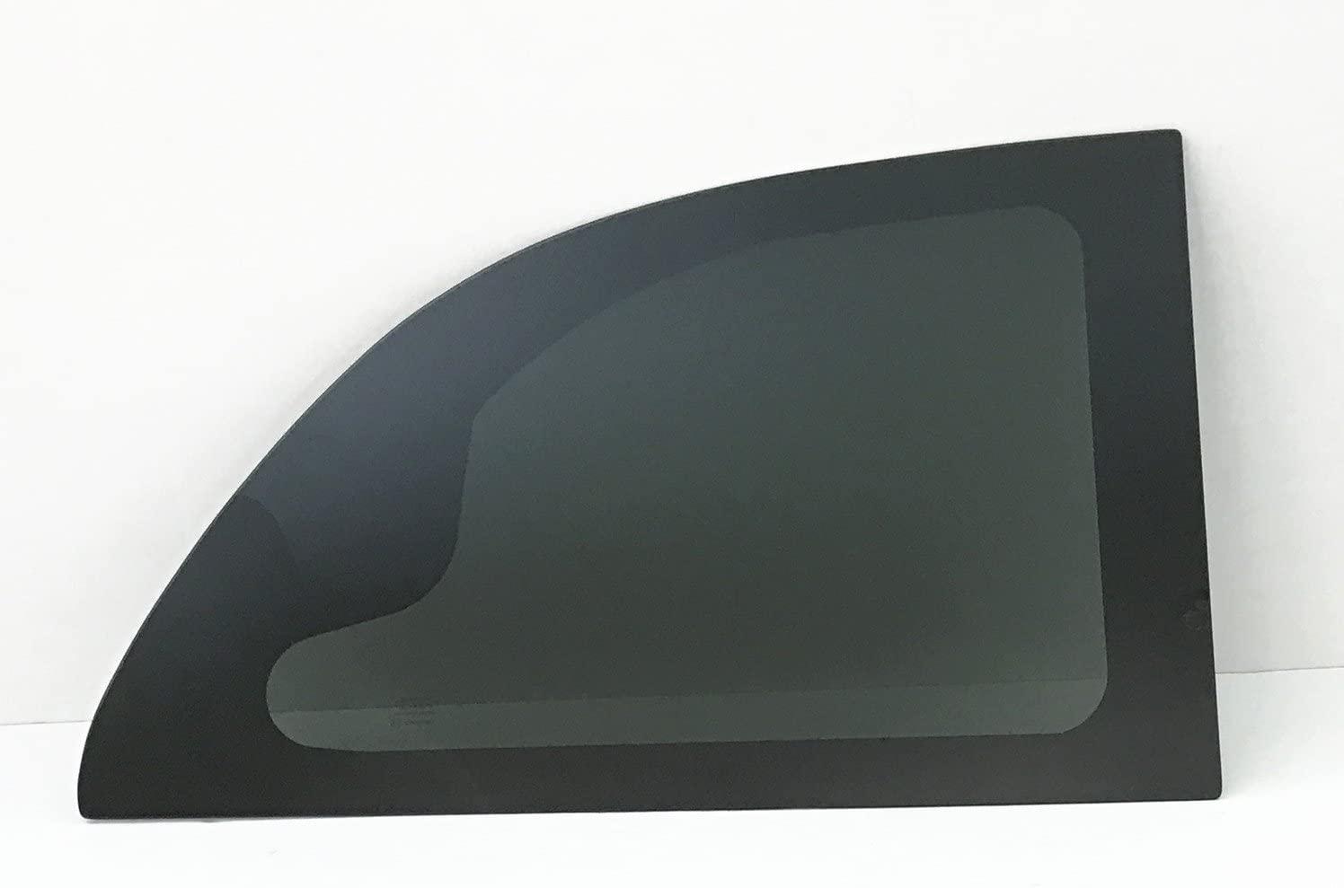 NAGD Manual Style Passenger Right Side Quarter Window Quarter Glass Compatible with Dodge Caravan 2001-2007 Models