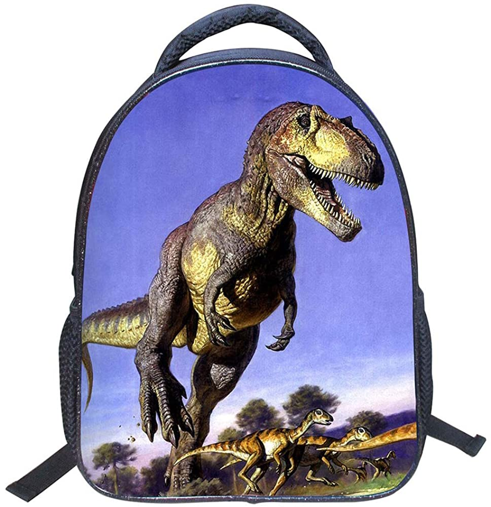 2018 New Style new semester Cool Dinosaur Animal Kids School Backpack 3D Dinosaur Drawing Children Book Bag for boys