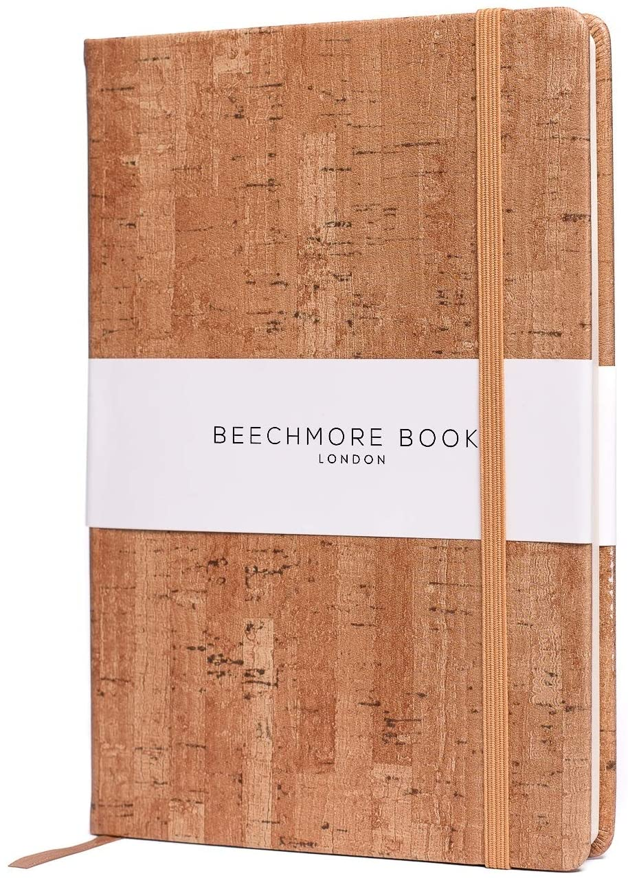 Bullet Notebook - British A5 Dotted Journal by Beechmore Books | Large 5.75