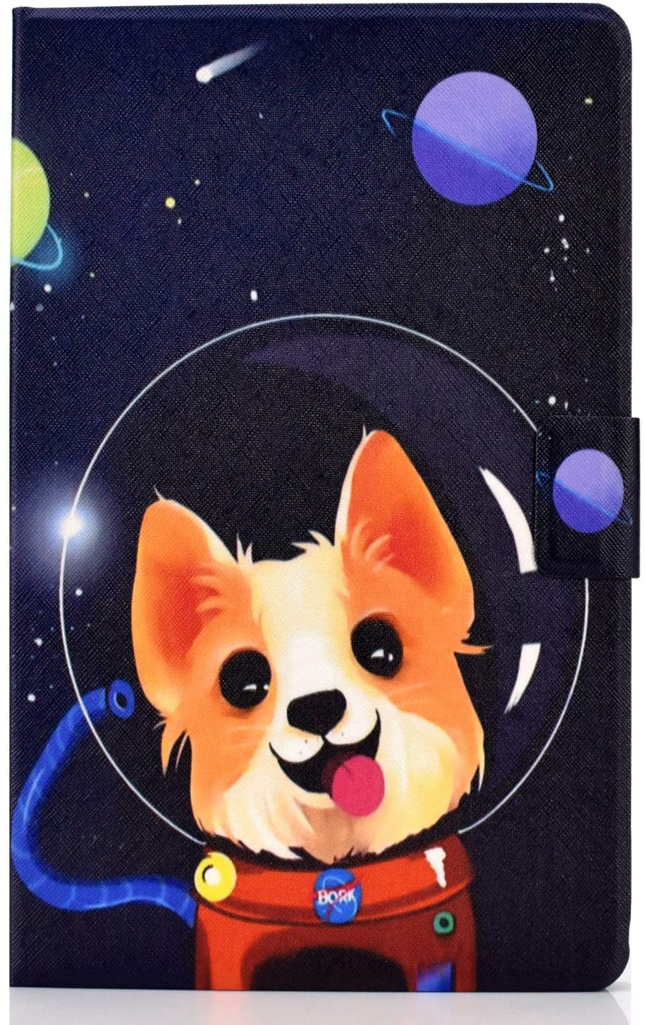 Pefcase Samsung Galaxy Tab A 10.1 2019 Case, Multi-Angle Viewing Protective PU Leather Folio Cover for Samsung Galaxy Tab A 10.1 Inch SM-T510/SM-T515 2019 Release Tablet - Lovely Puppy