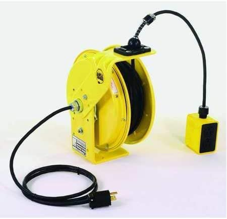 Retractable Cord Reel with 50 ft. Cord 12/4