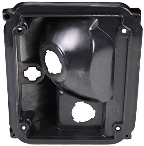 Rareelectrical NEW RIGHT PASSENGER TAIL LIGHT HOUSING COMPATIBLE WITH CHEVROLET C30 1975-1977 5965772 GM2807102