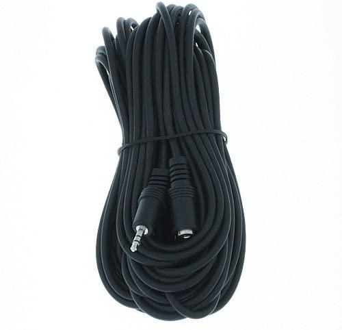 RiteAV - 3.5mm Stereo Headphone Extension Cable - 50 Feet