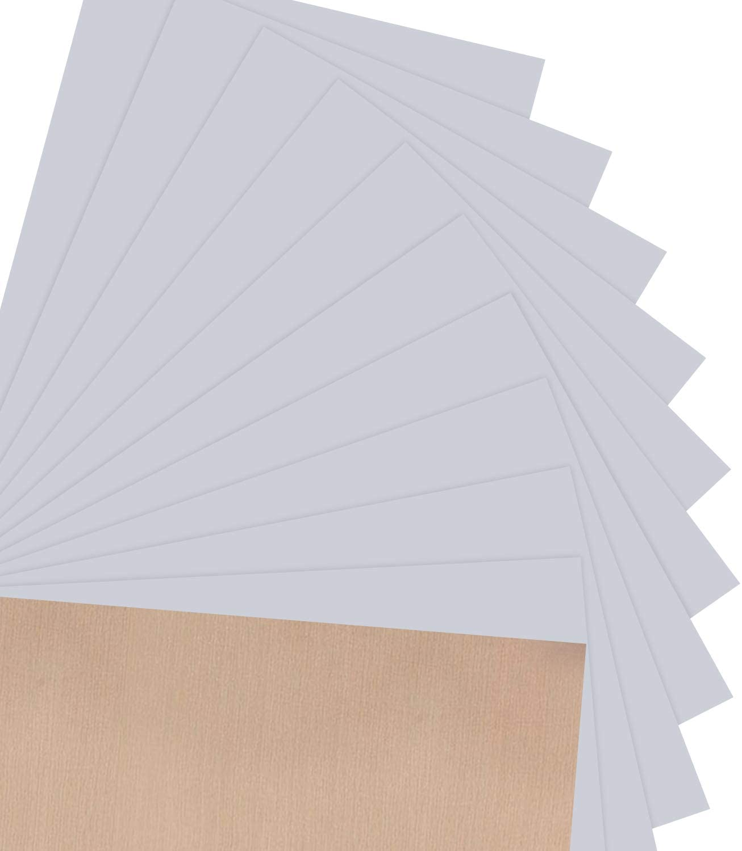 JANDJPACKAGING HTV Heat Transfer Vinyl Bundle for T Shirts, Iron on HTV Vinyl for Silhouette Cameo Cricut (Silver)
