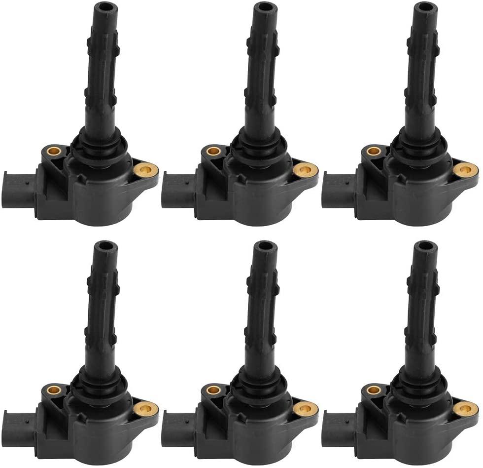 Gorgeri 6pcs Ignition Coils for Benz C230/C280/C300/C350/CL550 2729060060