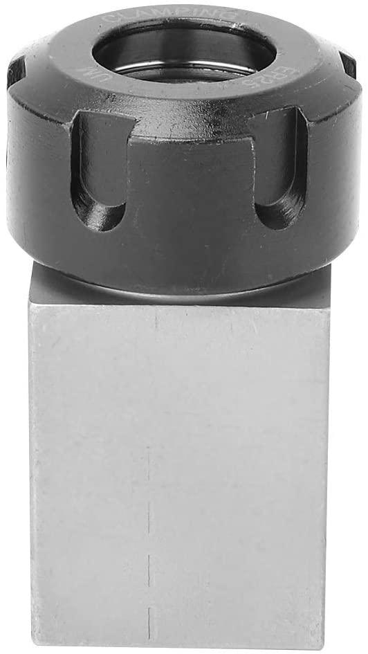 Jadeshay Collet Block - ER25 Collet Block Chuck Collet Holder for Lathe Engraving Machine (Size : Hex)