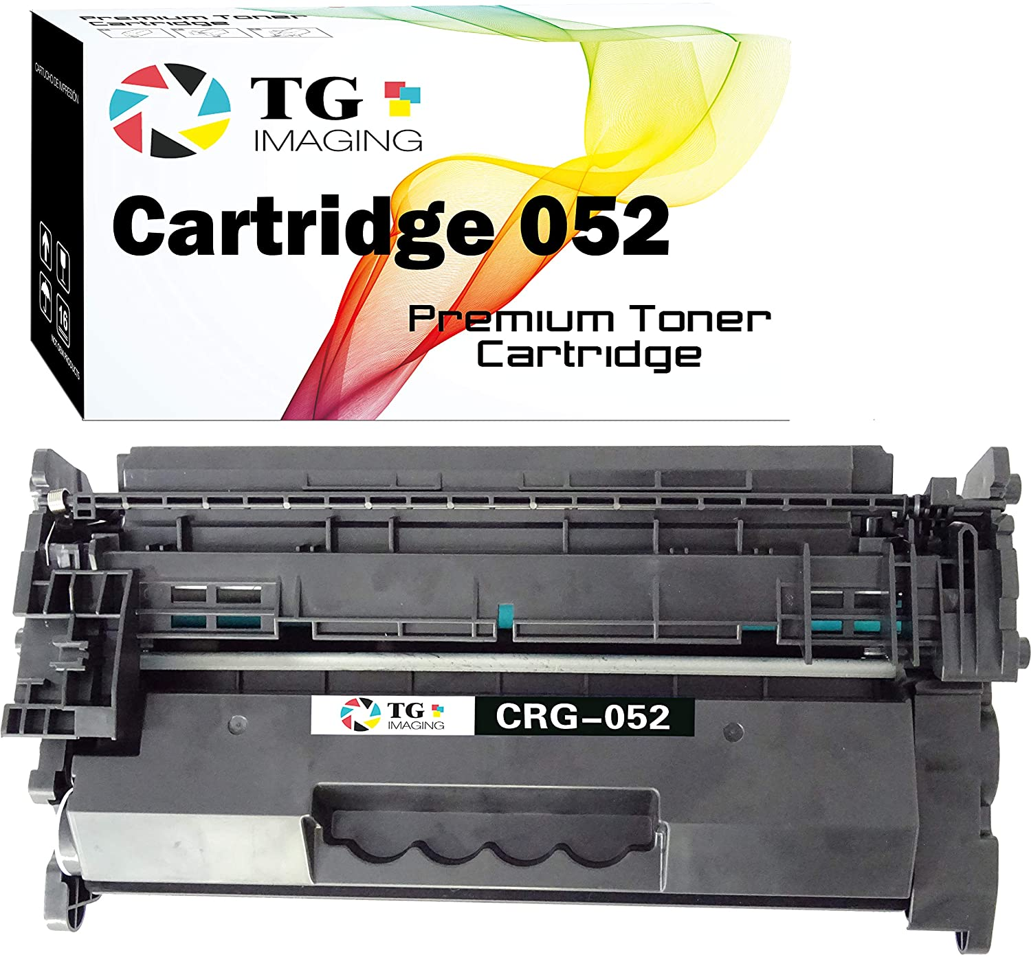 (1-Pack, Black) TG Imaging Compatible Canon 052 CRG-052 052H Toner Replacement for Canon LBP214 LBP215 MF424 MF426 MF429 LBP214dw MF426dw MF424dw Printers