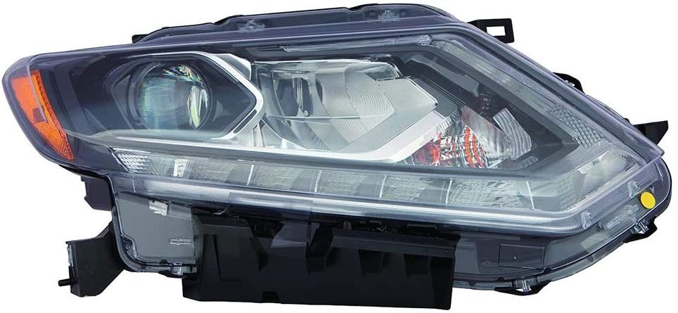 For Nissan Rogue 14-15 Headlight Assembly LED Passenger Side
