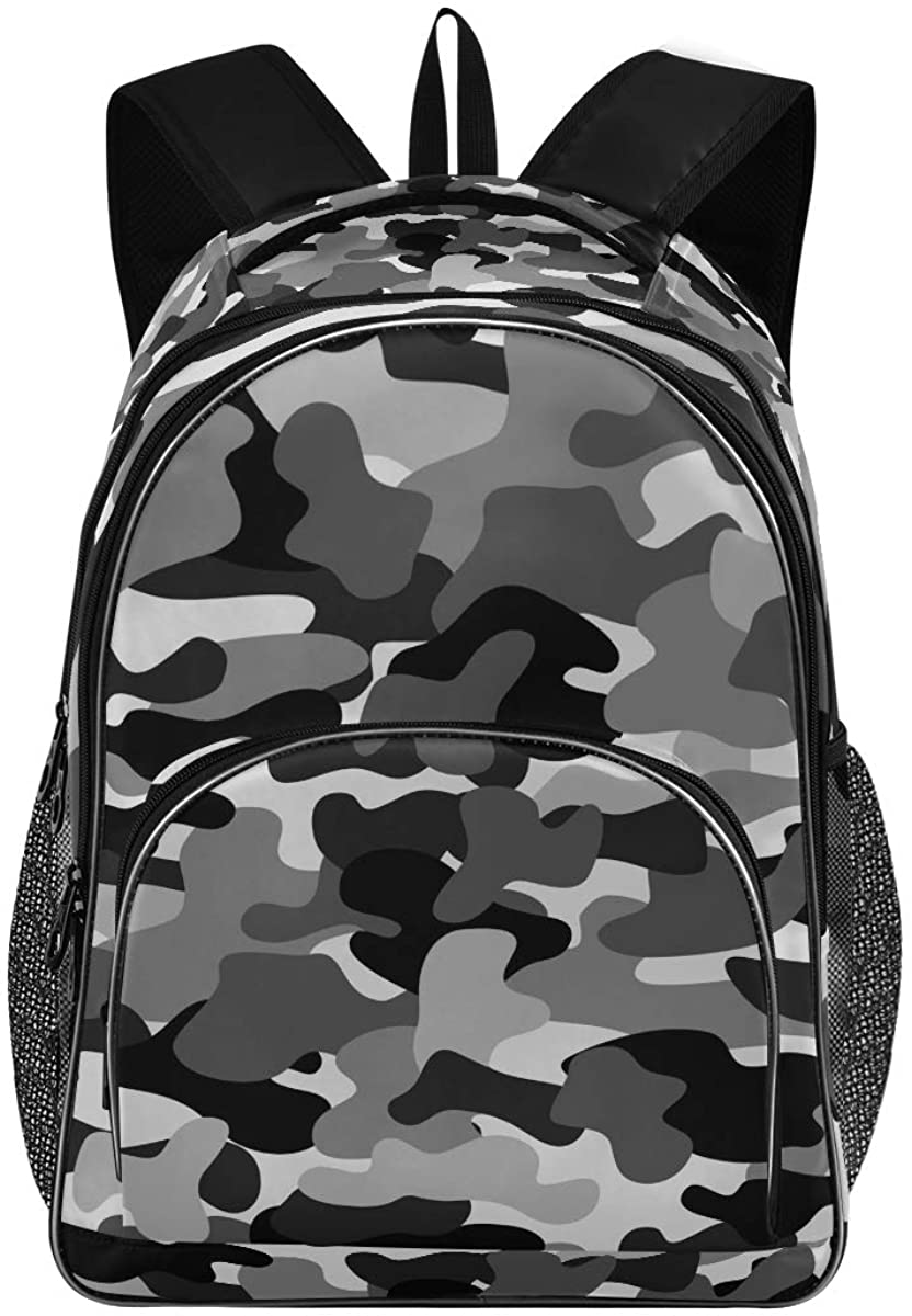 Camouflage New Backpack for School Teenagers Girls Boys Travel Bag(623m2)