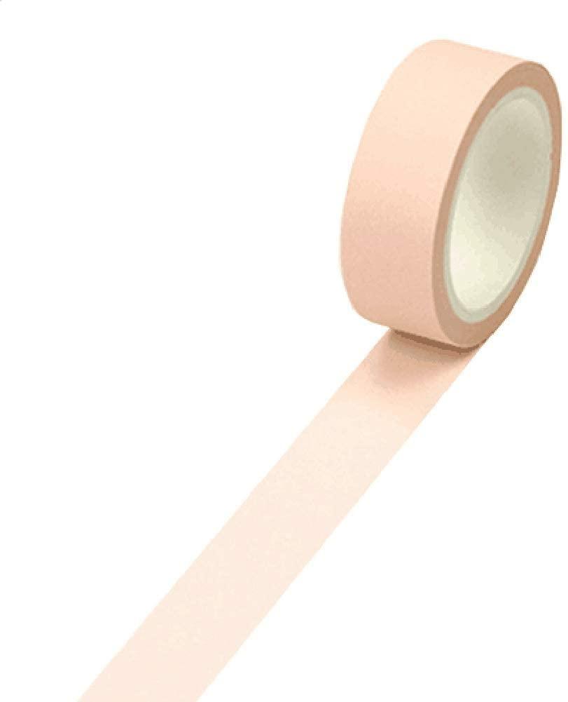 Set of 4 Decorative Washi Masking Tapes DIY Craft Tapes Paper Tapes [Light Pink]