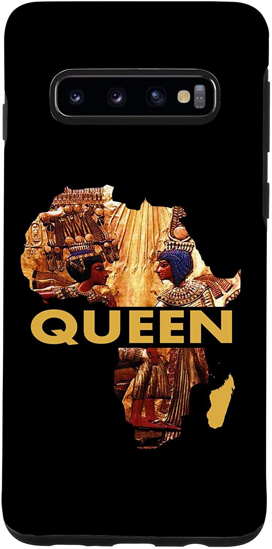Galaxy S10 African American Women Egyptian Queen Art Birthday Gift Case
