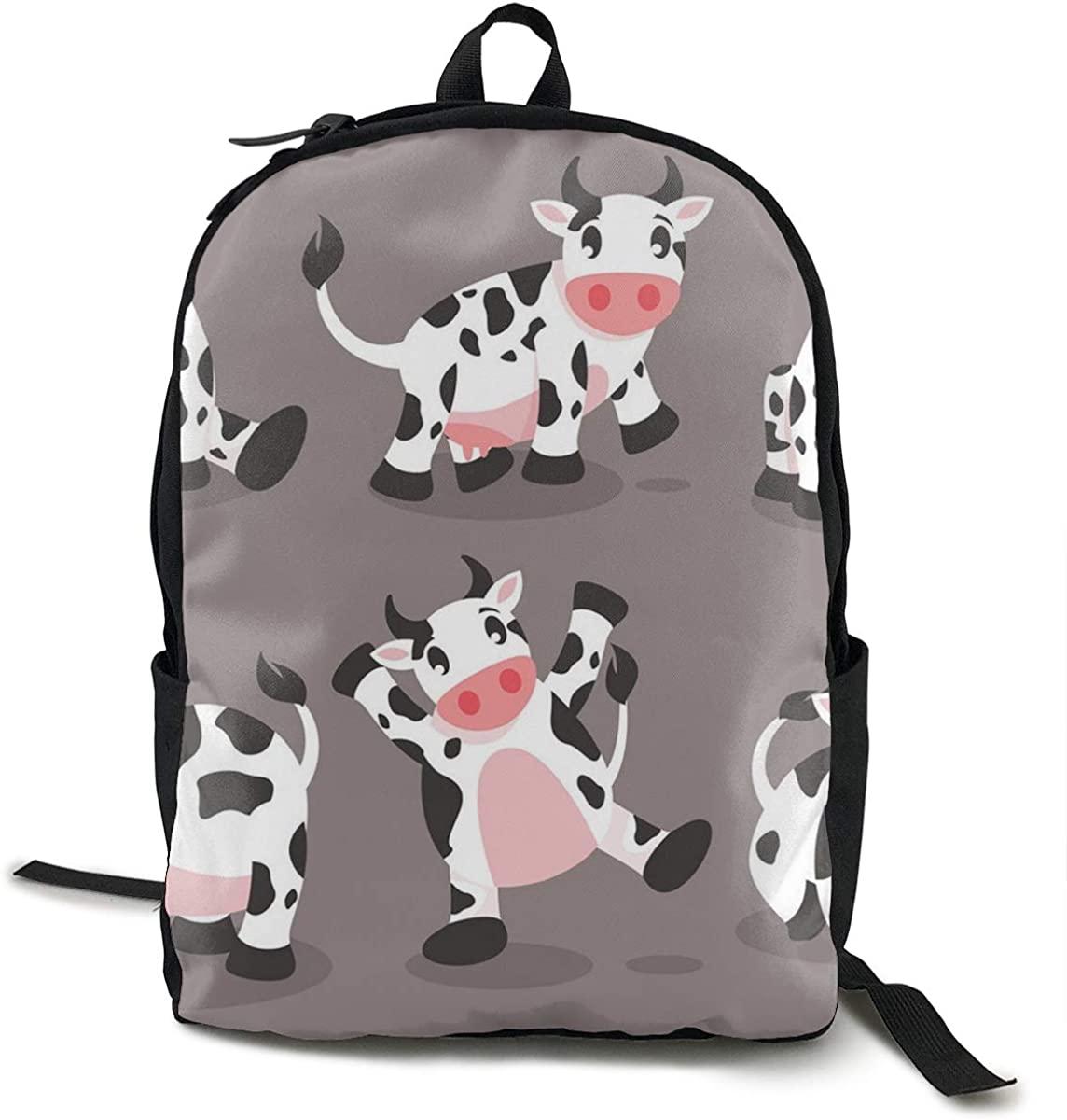 O-X_X-O Unisex Lightweight Polyester Backpack Rucksack Travel Laptop School Bag