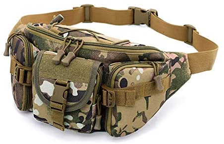 szwpalenHK123 Fashion Waist Packs Outdoor Riding Bag Mountaineering Running Pockets Leisure Bag Military Fan Bag