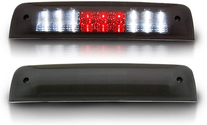 AmeriLite Smoke LED 3rd Brake Lights for Dodge Ram