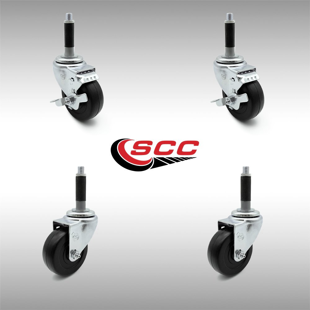 """Service Caster - Stainless Steel 3.5"""" x 1.25"""