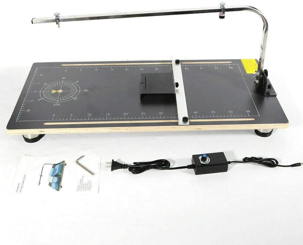 110V 30W Foam Cutting Machine Hot Wire Foam Cutter Table Tool Styrofoam Cutter