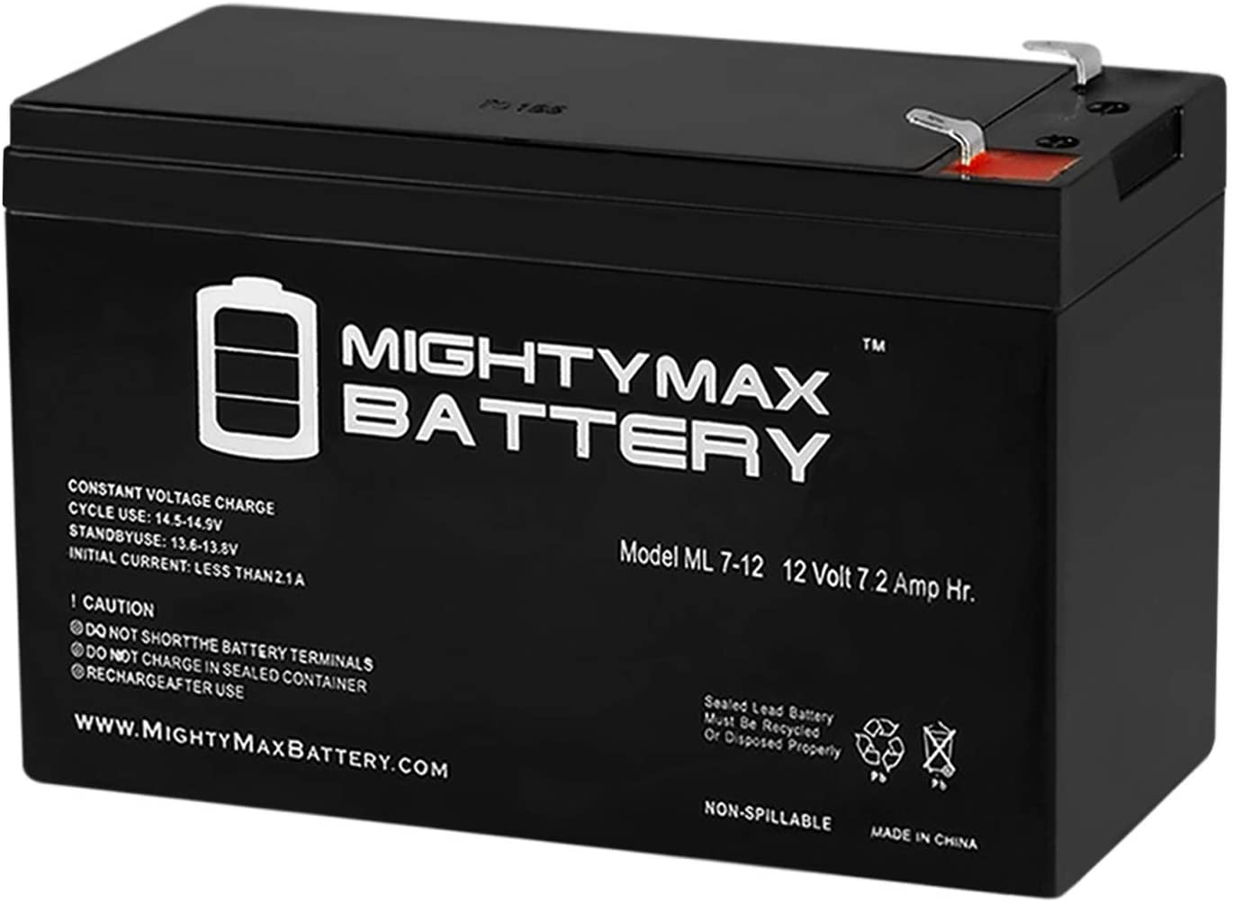 Mighty Max Battery 12V 7.2AH SLA Battery Replaces GTO PRO2500 Swing Gate Opener Brand Product
