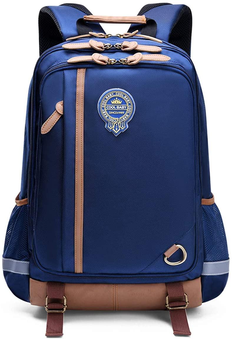 Kids Backpack for School Lightweight Bookbag for Children Elementary School Bags for Boys Girls