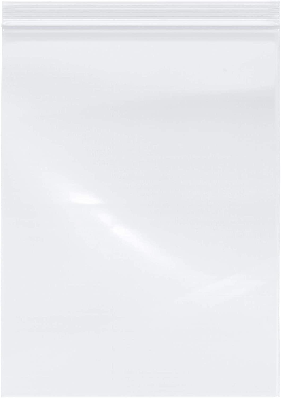 Plymor Industrial Duty Plastic Reclosable Zipper Bags, 6 Mil, 9 x 12 (Case of 500)