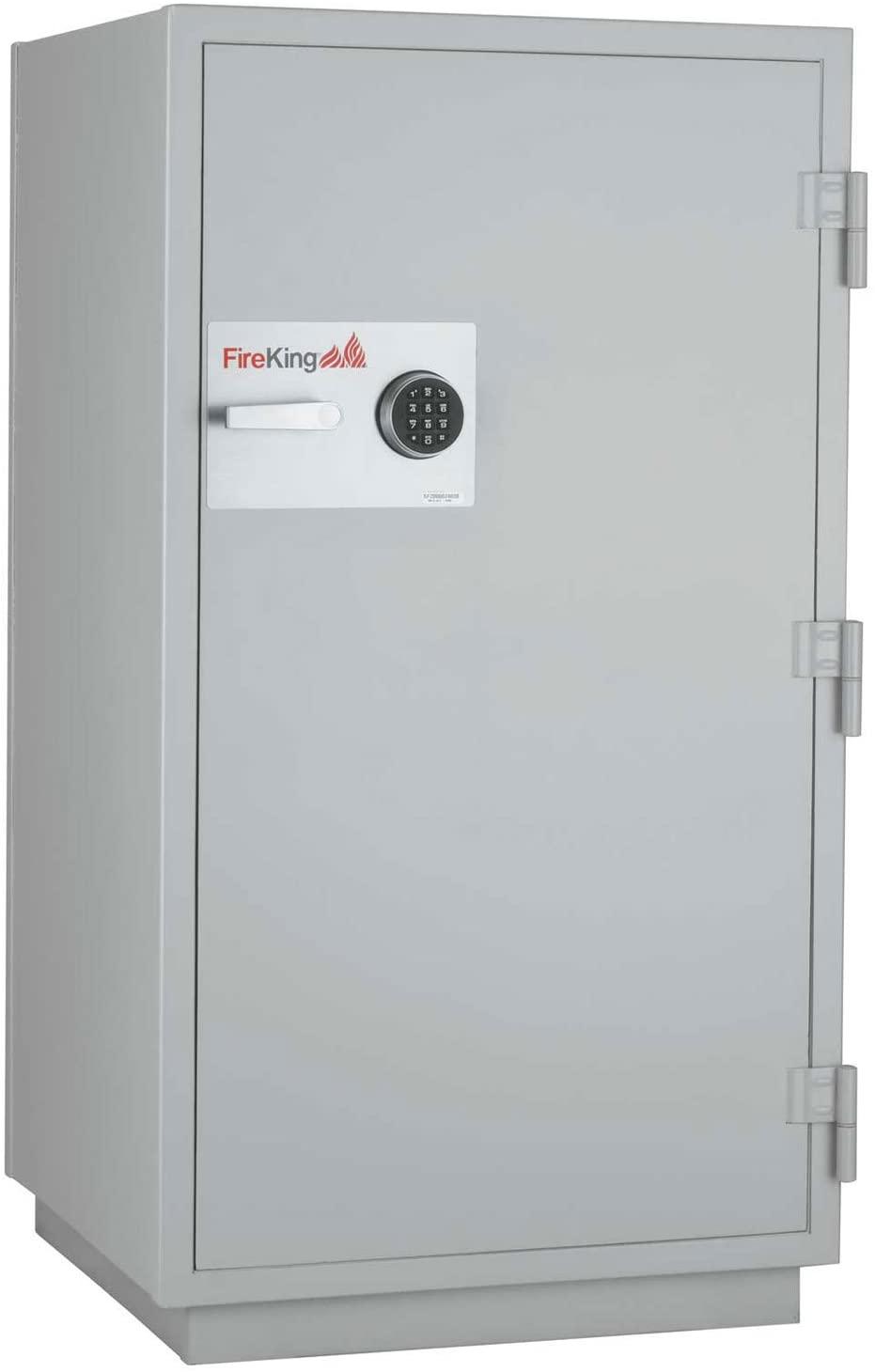 Fireking Data Safe Dm4420-3, 3-Hour Fire/Impact Rating 32-1/16 X 31 X 59-3/4 Platinum Finish