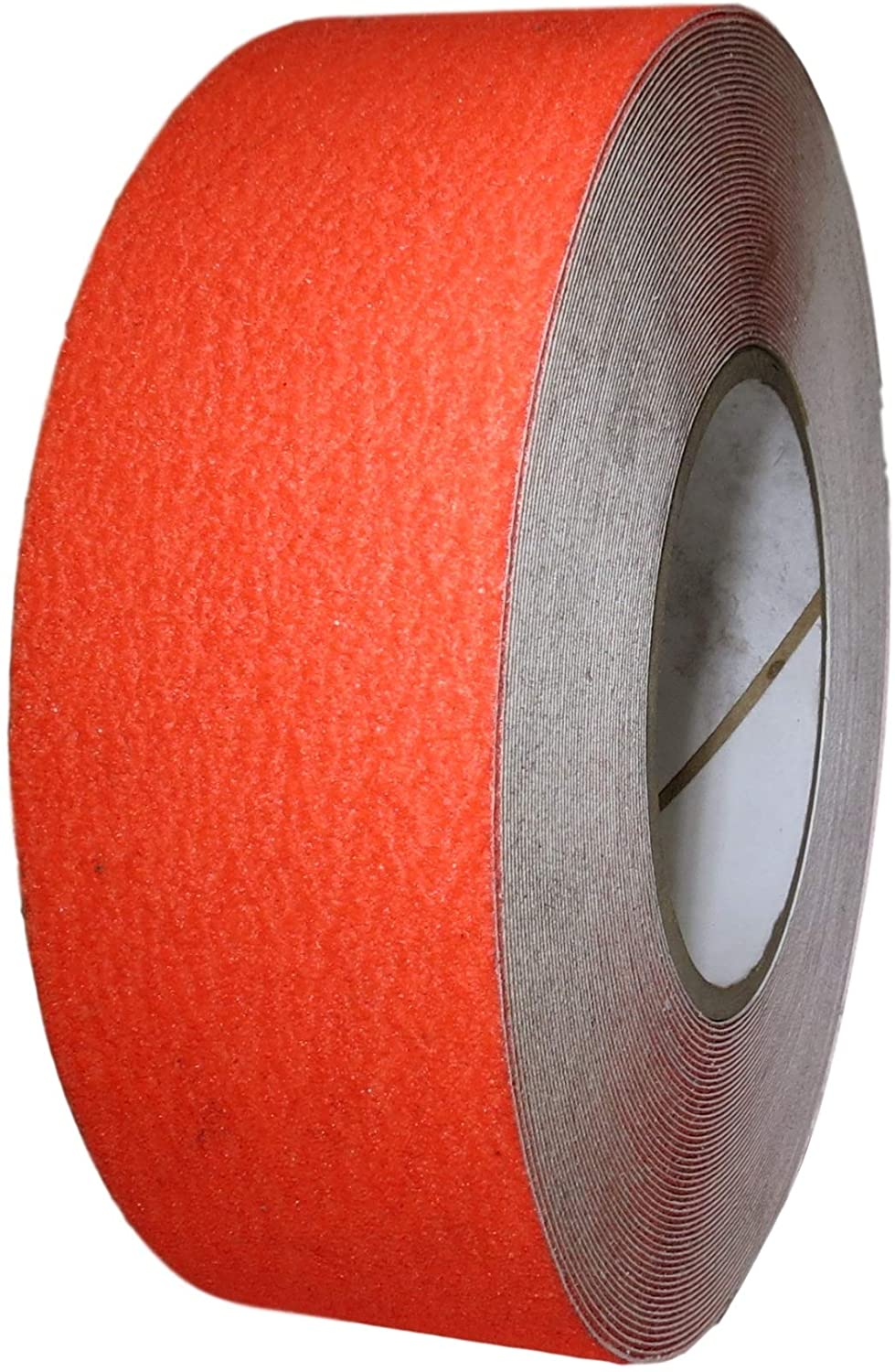 T.R.U. NST-20 Non-Skid Tape 60 ft. length Safety Way 60 Grit Anti Slip Traction Tape 32 Mil No Slip (4 in. x 60 ft. (100mm wide), Fluorescent Red)