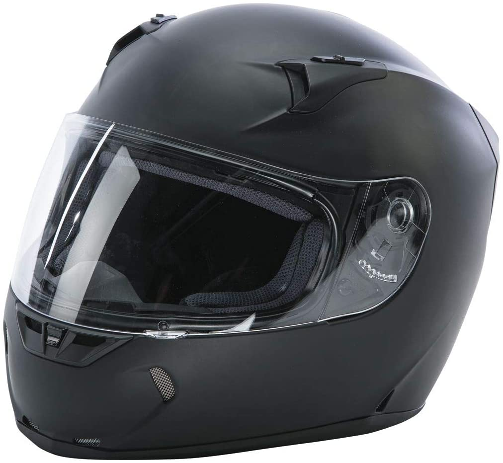 Fly Racing Street Revolt Helmet (Medium) (Matte Black)