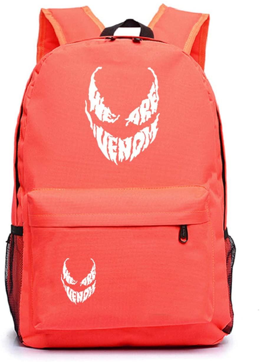 GD-fashion Kids Venom Backpack-Lightweight School Bookbag for Boys Girls-Backpacks for Travel,Outdoor