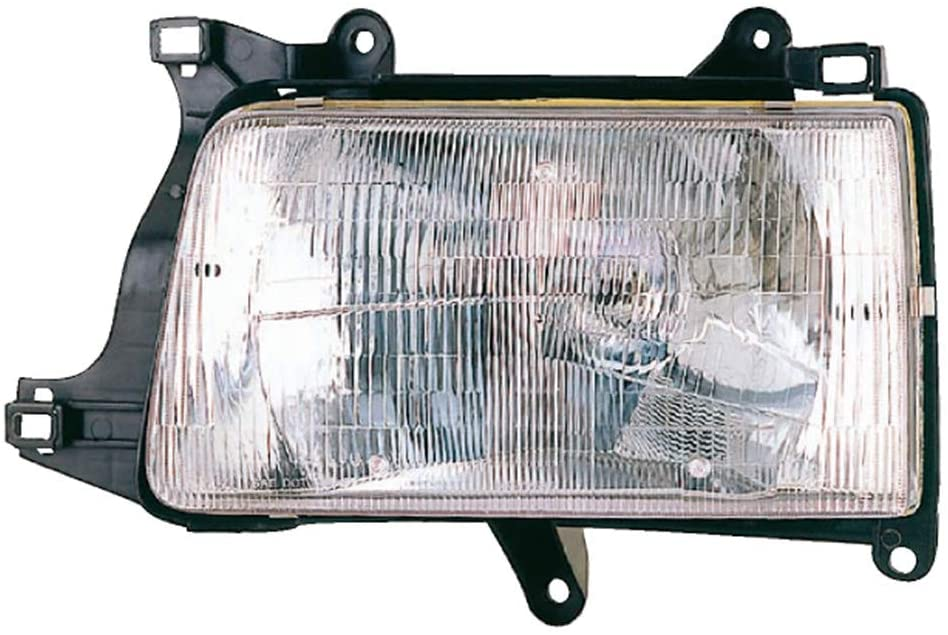 JP Auto Headlight Compatible With Toyota T100 Pickup Truck 1993 1994 1995 1996 1997 Passenger Right Side Headlamp