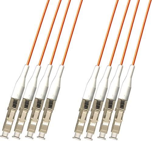 RiteAV - Direct Burial/Outdoor LC-LC 4-Strand Fiber Optic Cable - Multimode (62.5/125) - 20M