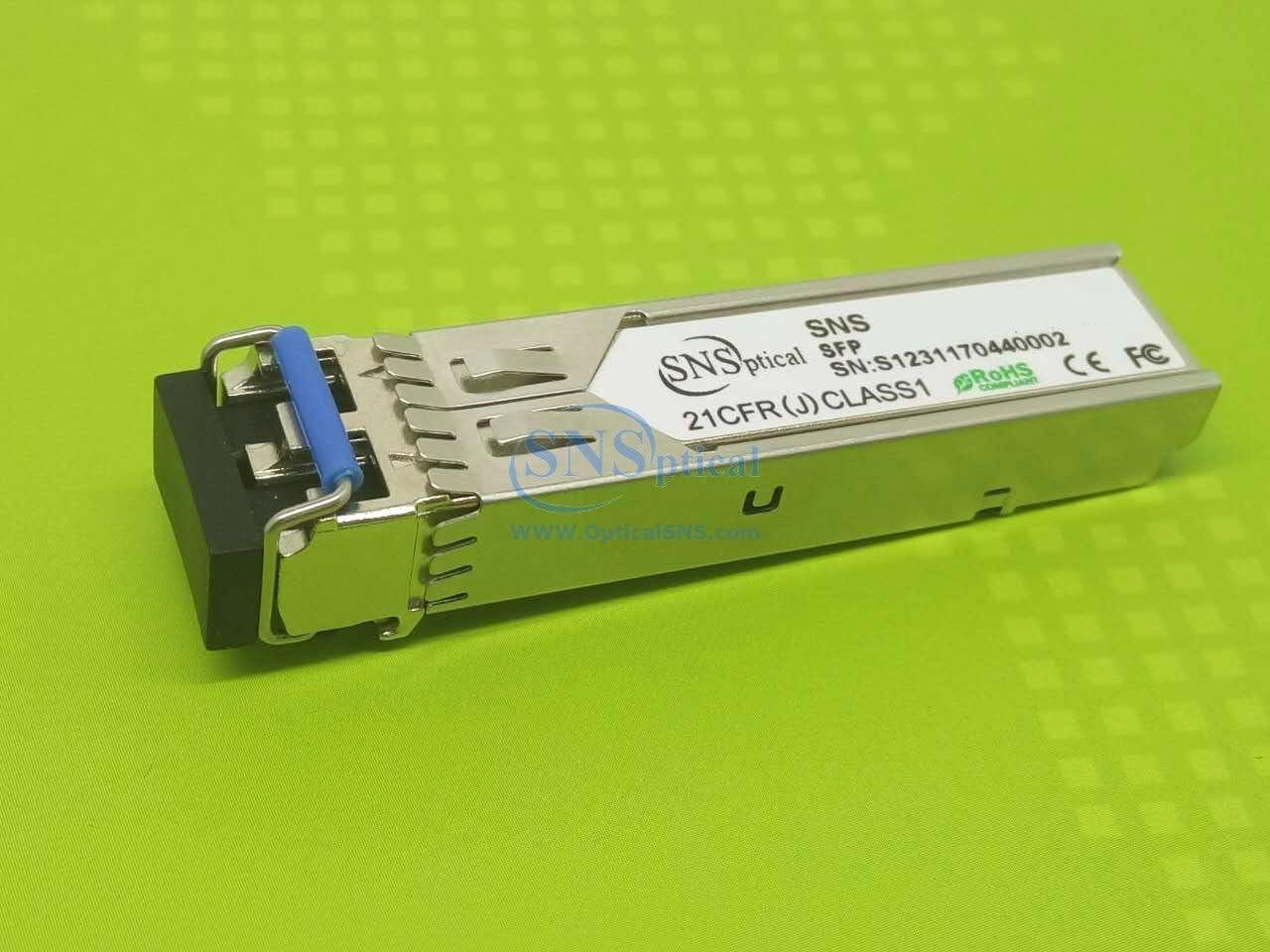 SNS GLC-LH-SMD Compatible with Cisco GLC-LH-SMD 1000BASE-LX/LH SFP 1310nm 10km EXT DDM Transceiver Module