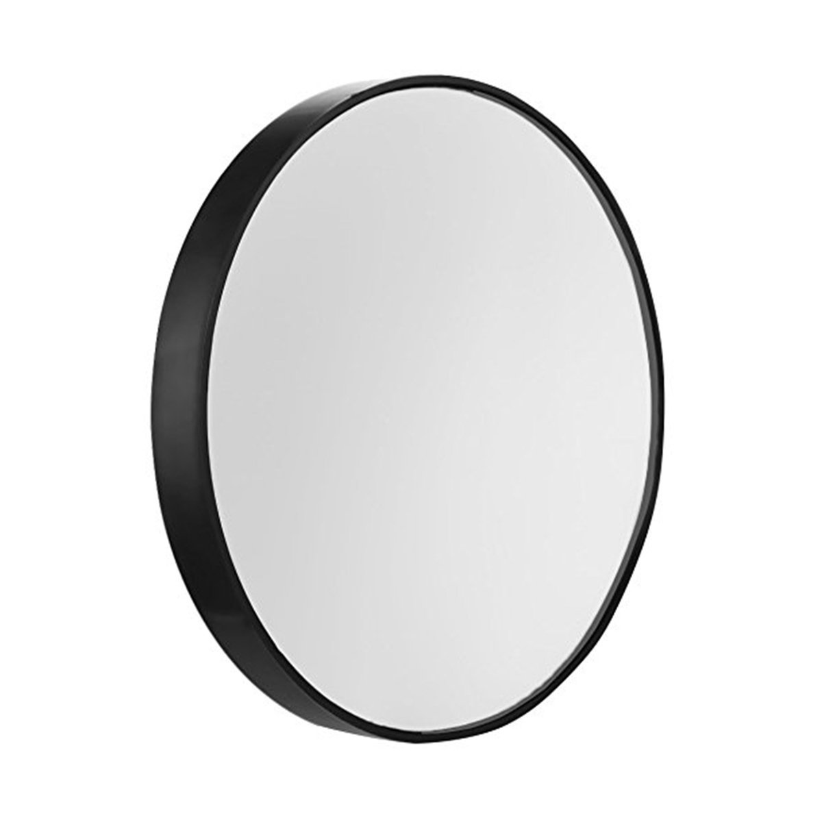 Frcolor Makeup Mirror, 3.5inch 15X Magnifying Round Detachable with Suction Cups