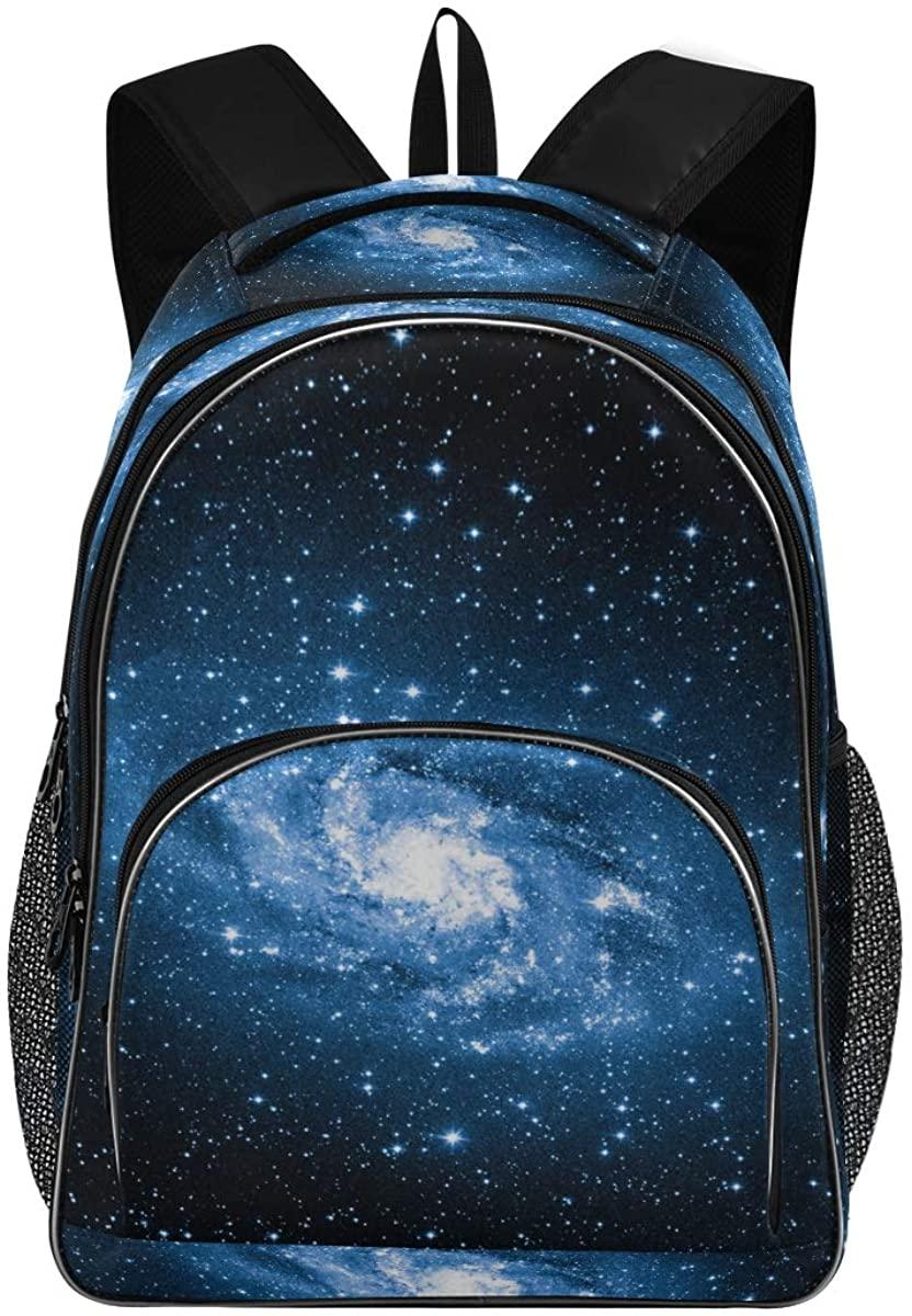 Triangulum Galaxy New Backpack for School Teenagers Girls Boys Travel Bag(623h)